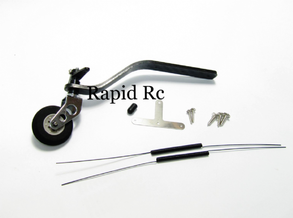 Carbon Fiber Tail wheel set 35cc to 50cc